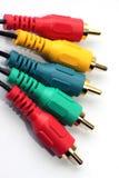 ljudsignal kabel Royaltyfri Foto