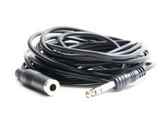 ljudsignal kabel Royaltyfria Foton