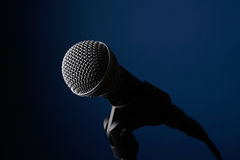 Ljudsignal mikrofon Royaltyfri Fotografi