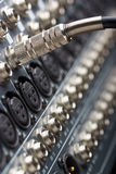 ljudsignal stålar Royaltyfri Fotografi