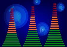 ljudsignal utjämnare Arkivbilder
