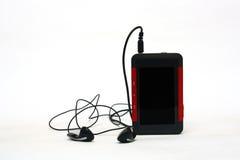 ljudsignal video för radio för spelare för fmmp3-mpeg Arkivfoto