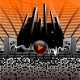 ljudsignala högtalare stock illustrationer