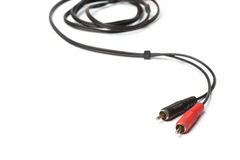 Ljudsignala och videopp stålar Fotografering för Bildbyråer