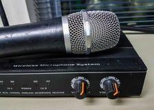 Ljudsignalförstärkare Arkivfoto