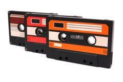 ljudsignalkassetter Arkivbild
