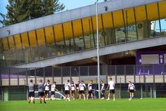 Ljudski Vrt Football Stadium Maribor, Slovenia Royalty Free Stock Photo