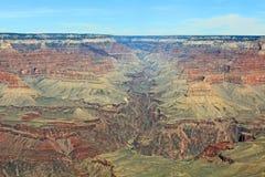 Ljus ängelkanjon som en del av grandet Canyon fotografering för bildbyråer