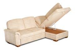 ljus öppen sofa för ask Royaltyfria Bilder