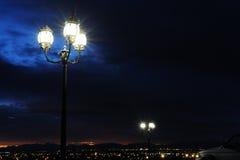 Ljus över öknen Royaltyfria Bilder