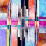 ljus abstrakt bakgrund Royaltyfria Bilder