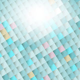 Ljus abstrakt bakgrund av diamanter Royaltyfria Bilder