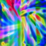 Ljus abstrakt bakgrund för mångfärgat neon med färgrik fläck Arkivfoto