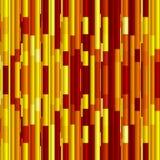 Ljus abstrakt bakgrund för röda och gula band Royaltyfria Bilder