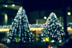 Ljus abstrakt bakgrund med julträdet Royaltyfri Fotografi