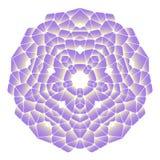 Ljus abstrakt modell, mandala Royaltyfri Foto