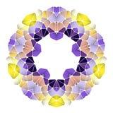 Ljus abstrakt modell, mandala Royaltyfria Foton