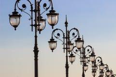 Ljus arkitektoniska beståndsdelar Arkivfoton