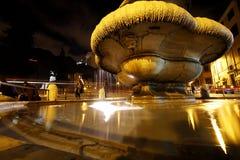 Ljus av natten Royaltyfria Foton