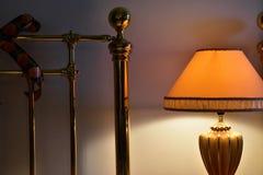 Ljus av sängen Royaltyfria Foton