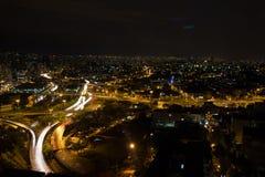 Ljus av staden royaltyfria bilder
