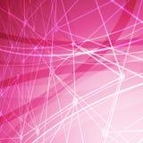 Ljus bakgrund för abstrakt molekylstruktur Arkivbilder