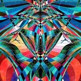 Ljus bakgrund för abstrakt vattenfärg Royaltyfri Bild