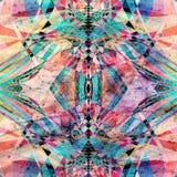 Ljus bakgrund för abstrakt vattenfärg Royaltyfri Fotografi