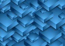 Ljus bakgrund för blåttabstrakt begreppteknologi Royaltyfri Foto