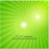 Ljus - bakgrund för tappning för television för bristning för gräsplanstrålstjärna vektor illustrationer