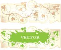 Ljus bakgrund med en vinrankadruva vektor illustrationer