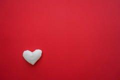 Ljus bakgrund med hjärta Arkivfoto