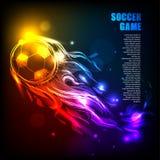 ljus bakgrundsboll Royaltyfria Bilder