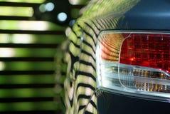 ljus baksida för bil Royaltyfria Bilder