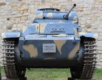 Ljus behållare Panzer för tysk WWII Arkivbild