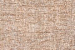 Ljus beige bakgrund av den mjuka ulliga torkduken Textur av textilcloseupen Fotografering för Bildbyråer