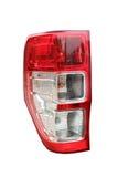 Ljus bil för öga på isolerat Fotografering för Bildbyråer
