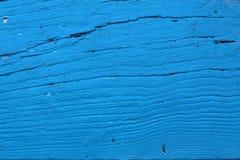 Ljus - blå gammal wood bakgrundstextur Arkivfoton