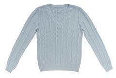 Ljus - blå tröja royaltyfri fotografi