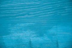 Ljus - blå wood textur Ljus - blå wood bakgrund Blå wood tabell Övre sikt för slut av ljus - blå wood textur och bakgrund Arkivbild