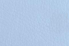 Ljus - blått syntetiskt läder Arkivbild