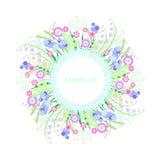 ljus blomma Arkivbild