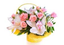 ljus blomma för bukett royaltyfri fotografi