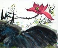 ljus blommalotusblomma Royaltyfri Illustrationer