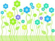 ljus blommaträdgårdfjäder Royaltyfri Fotografi