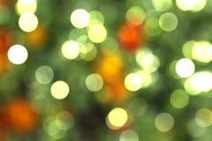 Ljus Bokeh abstrakt begreppbakgrund Royaltyfri Bild