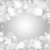 Ljus bokeh för vinter Royaltyfri Fotografi