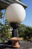 Ljus boll på väggen i Chiangmai Royaltyfria Bilder
