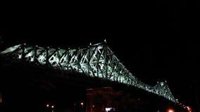 Ljus bro i rörelse lager videofilmer