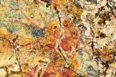 Ljus brokig textur av en sten Arkivfoton